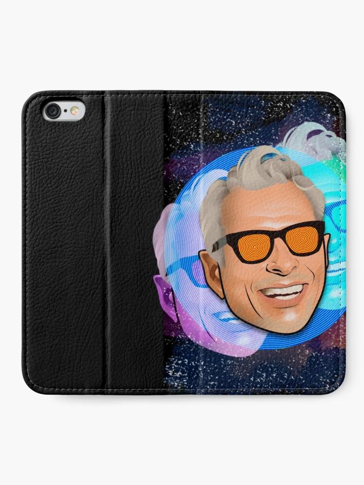 Alternative Ansicht von Kosmischer Goldblum iPhone Flip-Case