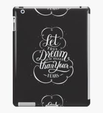 Vinilo o funda para iPad Deje que su sueño sea más grande