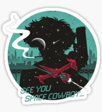 Space Cowboy Sticker