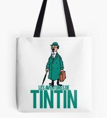 Professor Calculus ( Professeur Tournesol) - TIntin Tote Bag
