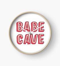Babe Cave Clock