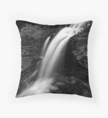 Shawnee Falls (up close) Throw Pillow