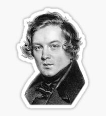 Robert Schumann - Great Romantic Composer Sticker