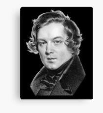 Robert Schumann - Great Romantic Composer Canvas Print