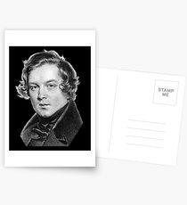Robert Schumann - Great Romantic Composer Postcards