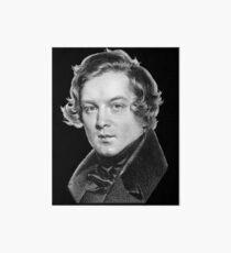 Robert Schumann - Great Romantic Composer Art Board