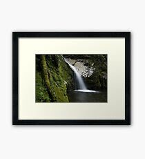 Dorothy Falls. Framed Print