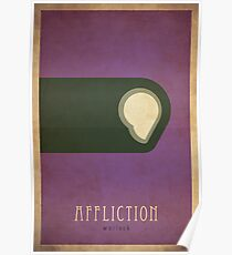 Affliction Warlock - WoW Minimalism Poster