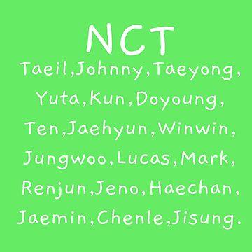NCT KPOP by shannonpaints