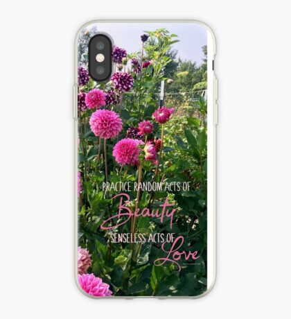 Random Acts of Beauty iPhone Case