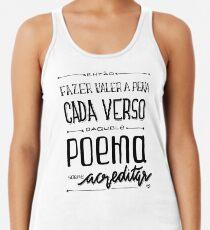Poema sobre acreditar Women's Tank Top