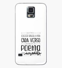 Poema sobre acreditar Case/Skin for Samsung Galaxy