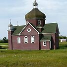 Old Church in Sask. Canada by MaeBelle