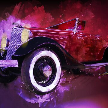34 Ford Roadster Spunky Monkey Home Before Sunrise by ChasSinklier