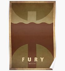 Fury Warrior - WoW Minimalism Poster