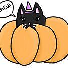 «gatito de calabaza» de Jennie Clayton