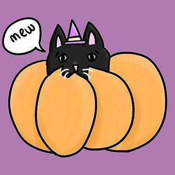 pumpkin kitty by jennieclayton