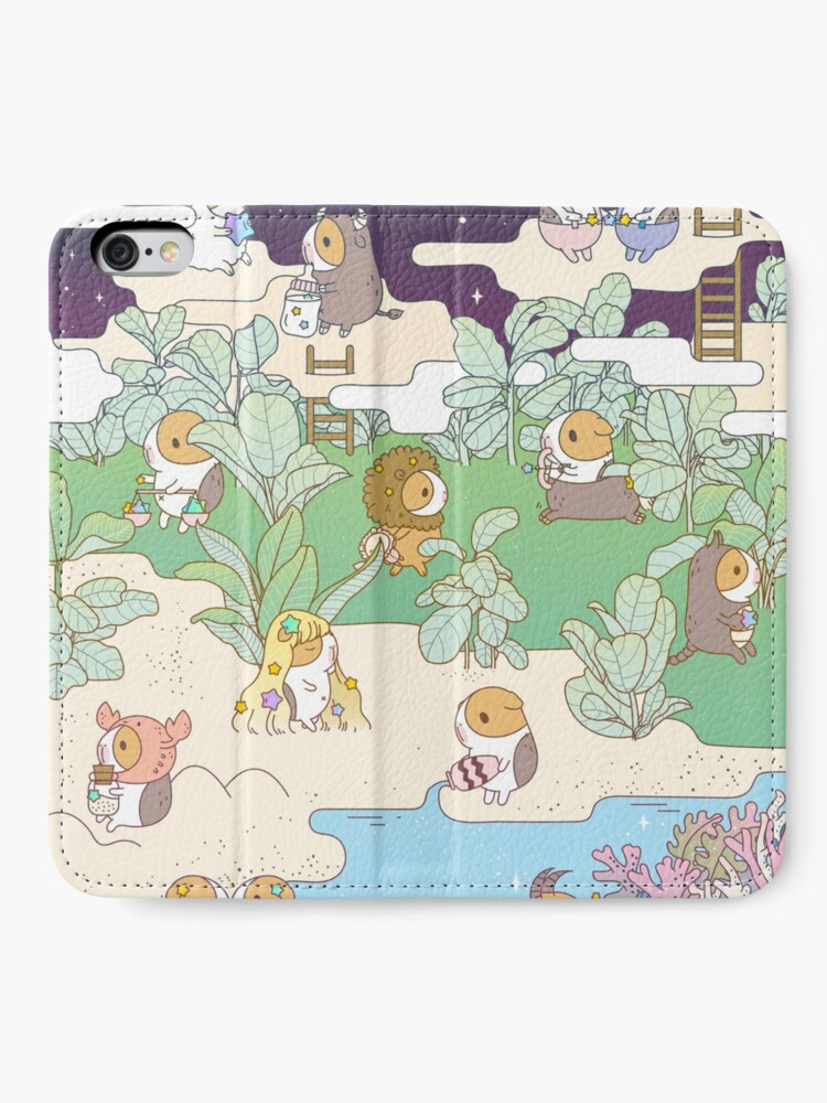 Alternate view of Bubu the Guinea pig Horoscope Land iPhone Wallet