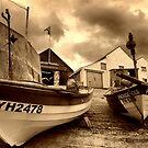 Sheringham boats  by savosave