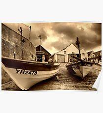 Sheringham boats  Poster