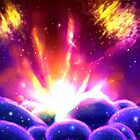space explosion by Lonely Ufo