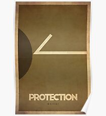 Protection Warrior - WoW Minimalism Poster