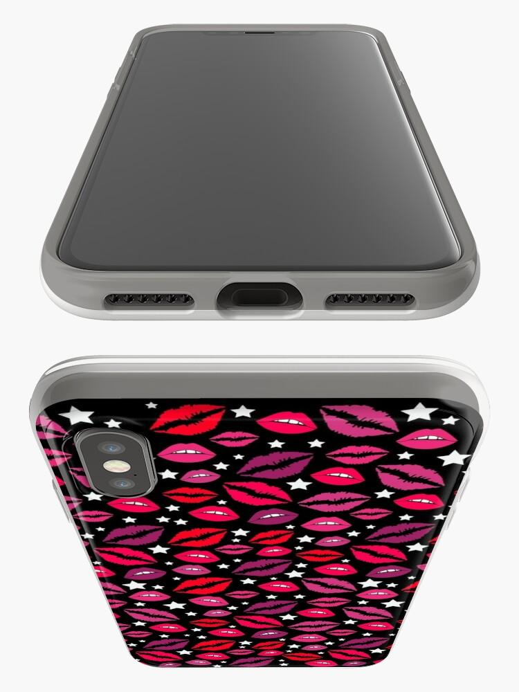 Alternative Ansicht von Lippen und Sterne iPhone-Hüllen & Cover