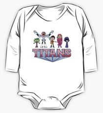 HELP? TITANS! One Piece - Long Sleeve