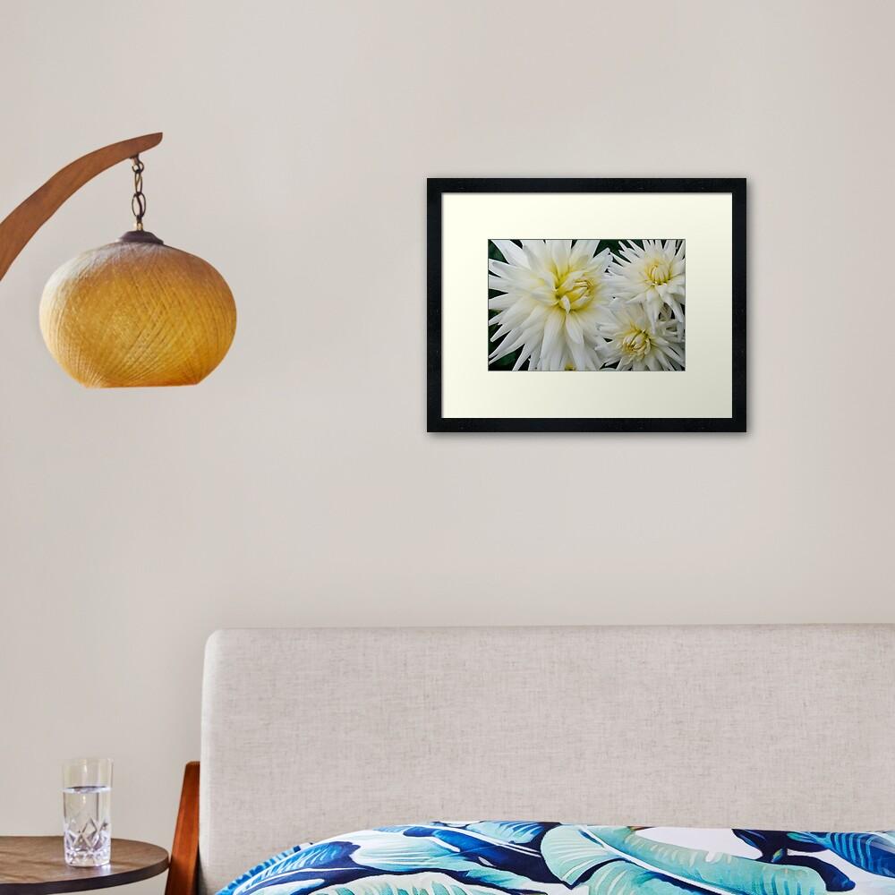 The Flowers That Be - II Framed Art Print