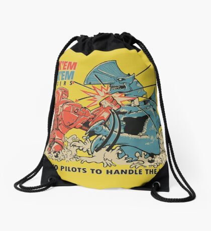 ROCK 'EM, SOCK 'EM JAEGERS Drawstring Bag