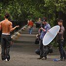 Calvin Klein Photo Shoot----Central Park New York by milton ginos