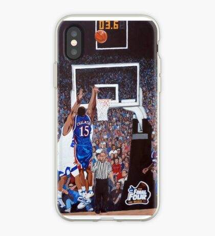 A Shot to Remember - 2008 National Champions iPhone Case