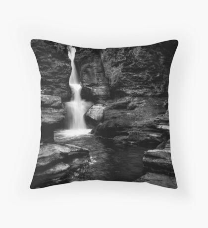 Adams Falls Throw Pillow