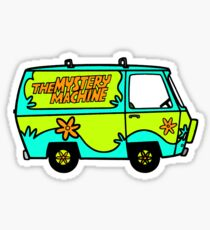 The Mystery Machine Sticker