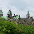 Parliament Hill by Sandra Fortier