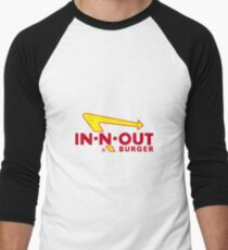 IN N OUT LOGO Men's Baseball ¾ T-Shirt