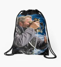 Sextant in colour Drawstring Bag