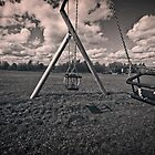 Swings in Summer by Glen Allen