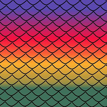 Rainbow Scales (3) by kclarkson