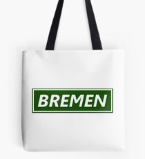 Bremen in the frame Tote Bag