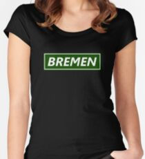 Bremen in the frame Women's Fitted Scoop T-Shirt