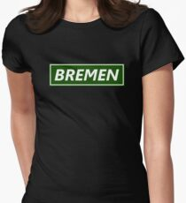 Bremen in the frame Women's Fitted T-Shirt