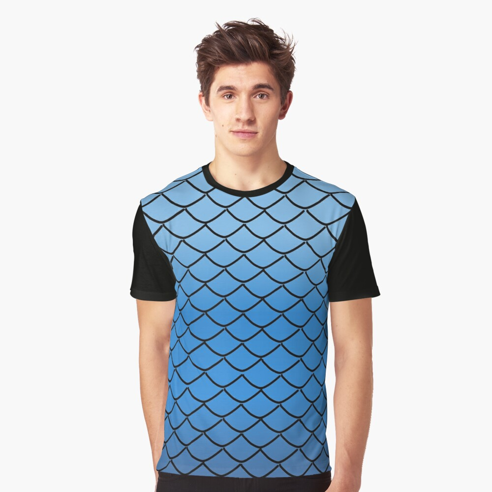 Rainbow Scales (12) Graphic T-Shirt Front