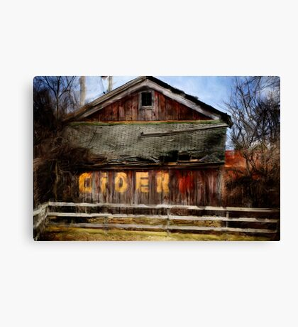 The Old Cider Barn Canvas Print
