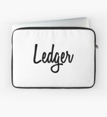 Hey Ledger buy this now Laptop Sleeve