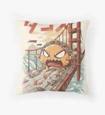 Takaiju Throw Pillow