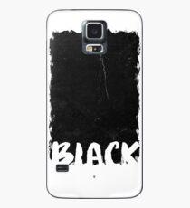 Black Artwork Case/Skin for Samsung Galaxy