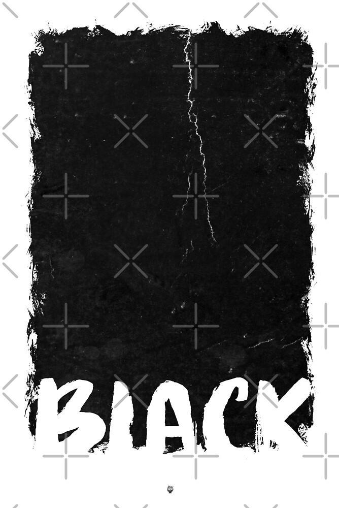 Black Artwork von Black Sign Artwork