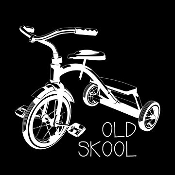 Old school tricycle bike trike toys shirt by WWB2017