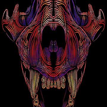 Tiger skull by Rekanize
